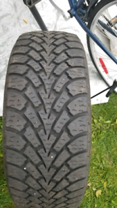 Goodyear winter tires 205/55 R16 300$