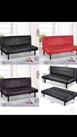 Brand new Sofa beds black,red
