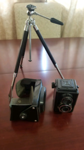 Ancient and Unique Russian Camera with Tripod in great Condition