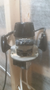SEARS CRAFTSMAN ROUTER MODEL 315-25070