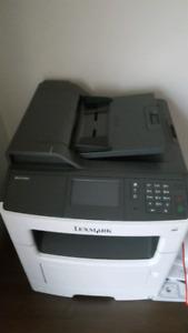 LEXMARK MX 410de PRINTER, MFD. BEST OFFER. Scanner. Fax