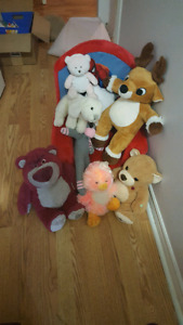 Stuffed toys, video, kids t-ball and more $20 takes the lot