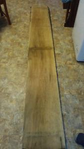 Butternut lumber