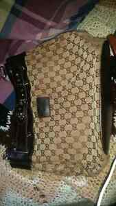 Gucci Purse (knock off) and size 6.5 heels