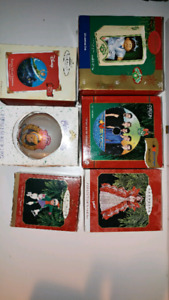Christmas collectibles. Star wars, cabbage patch kids and more!