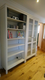 Ikea Hemnes living/dining room shelf units