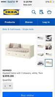 IKEA day bed (hemnes)