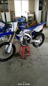 2016 yz250f mint condition low hours