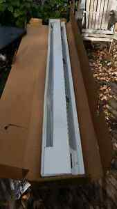 MARLEY BRAND 6FT. ELECTRIC BASEBOARD HEATER  NEW IN BOX $65.00