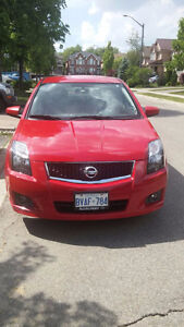 2012 NISSAN SENTRA SPORTY,NEW TIRES, EXCELLENT MINT CONDITION