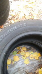 set of 4 15 inch snow tire