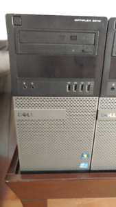 Dell 9010 desktop 16gb RAM 500gb HDD with dual monitors