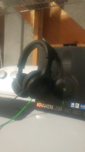 Like New Razer Kraken USB Headset/ Mic