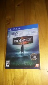 Bioshock collection ps4 25$ ou echange