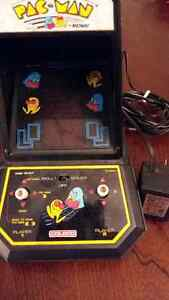 Table Top Pac Man with Coleco Battery Adapter