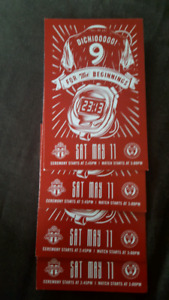 4 tickets TFC vs Philly Sat May 11