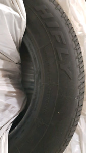 "4 Hilfy 15"" Used Tires No Rims"