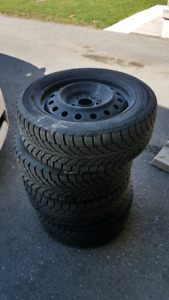 Snow Tires on Rim 205/55R16