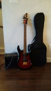 Yamaha Electric Guitar w/Amp and Bag -$200