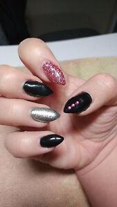Nails nails, mani-pedi, gel, acrylic, sculpture, hands and toes