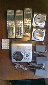 Panasonic Cordless Phone 3 set