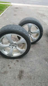 18 inch rims and tyres