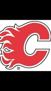 Calgary Flames tickets for Sale. Section 212 Row 14.