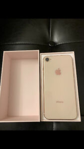 iPhone 8 64GB Gold Unlocked With AppleCare Great Condition