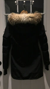 AUTHENTIC CANADA GOOSE BLACK TRILLIUM PARKA SIZE XXS London Ontario image 3