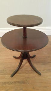Antique side table, excellent condition, solid wood