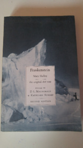 Frankenstein by Mary Shelley the original 1818 text: 2nd Edition