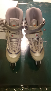 Womens Fila roller blades - size 10