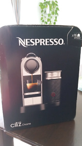 Nespresso Citiz and Milk Chrome machine.