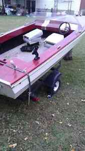Boat and trailer for 1200$ West Island Greater Montréal image 3