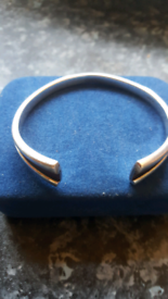 Old vintage Silver heavy bangle