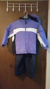 Girls 5/6 jacket & snow pants