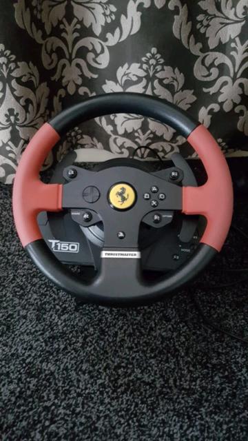 Thrustmaster T150 Ferrari Edition   in Crumpsall, Manchester   Gumtree