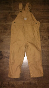 Baby 24 months/2T Carhartt coveralls $15 takes New Condition