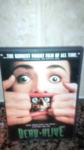 DVD movie  =DEAD ALIVE-  the goriest fright film of all time