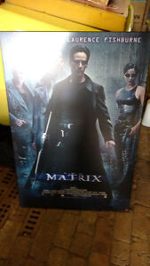 The Matrix mounted Movie Poster