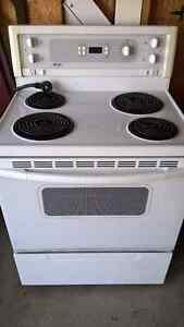 "Kenmore white 30"" stove"