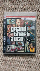 Grand Theft Auto 4 (PS3) + Poster