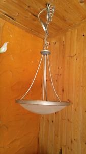 Lumière suspendue Stainless steel