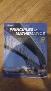 Nelson Principals of Mathematics 9