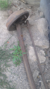 Model A front axle 1928-1931