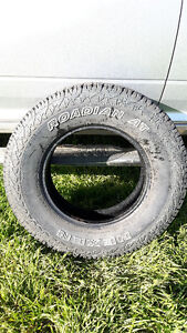 #6 truck tires - LT 235/80 R17 factory take off's $150 each