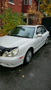 2002 Hyundai Sonata for sale as is