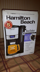 Ham. Beach Programmable Coffee Maker Brewstation #47900C, 12 Cup