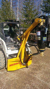 SKID STEER AND EXCAVATOR AUGER & ANCHOR DRIVES Regina Regina Area image 3