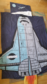 SPACESHIP BEDDING FOR COTBED